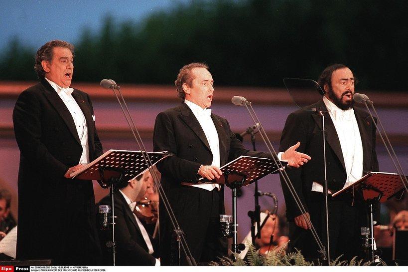 Placido Domingo, Jose Carreras, Luciano Pavarotti
