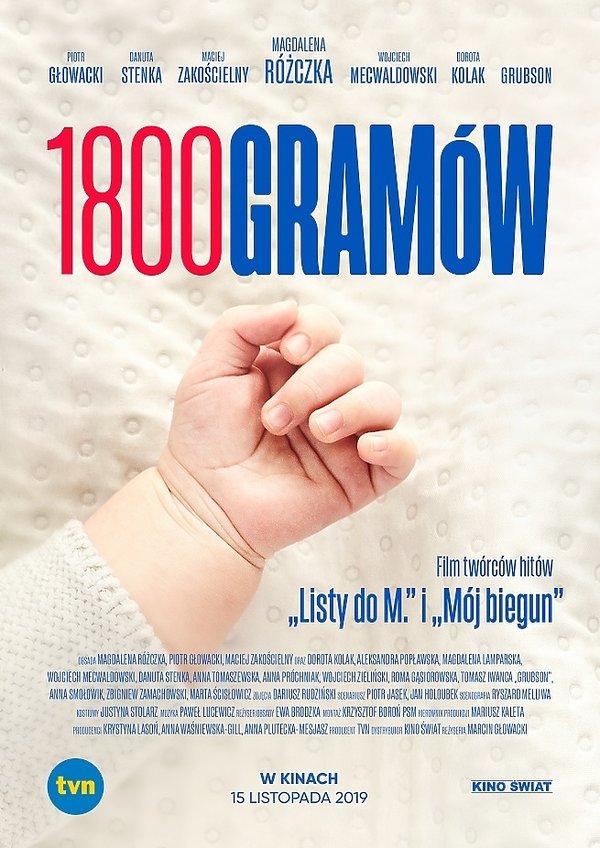 Plakat filmu 1800 gramów