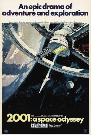 plakat filmu 2001: Odyseja kosmiczna