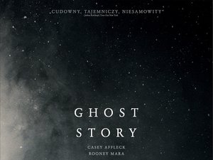 plakat filmu A Ghost Story. United International Pictures, TylkoHity.pl