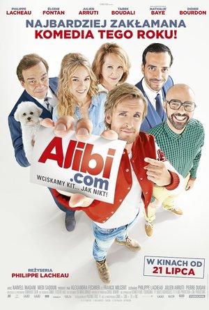 plakat filmu Alibi.com. Monolith Films