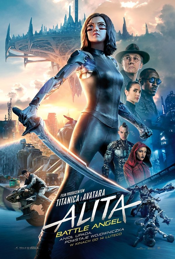 plakat filmu Alita: Battle Angel