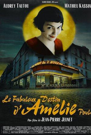 plakat filmu Amelia. Audrey Tautou