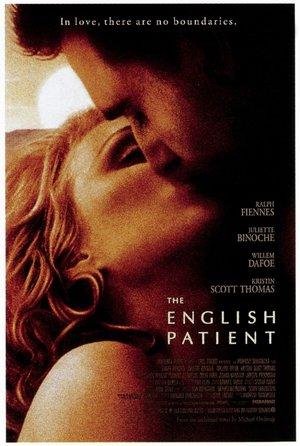 plakat filmu Angielski pacjent. Anthony Minghella