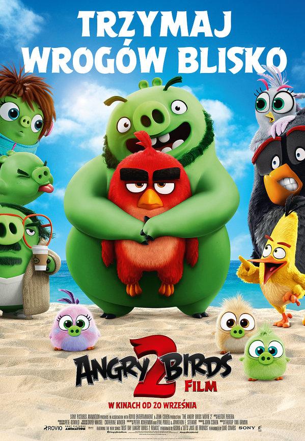 plakat filmu Angry Birds Film 2