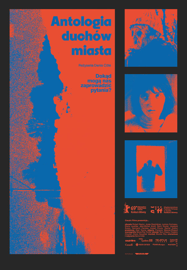 plakat filmu Antologia duchów miasta
