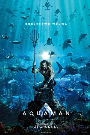 Plakat filmu Aquaman, Jason Mamoa