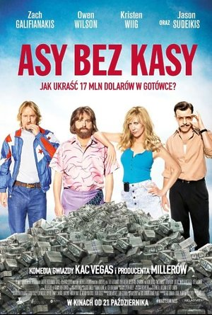 plakat filmu Asy bez kasy, Masterminds. Forum Film Poland