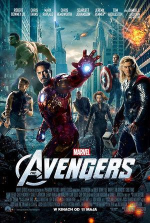 plakat filmu Avengers