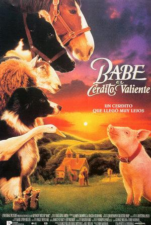 plakat filmu Babe - świnka z klasą