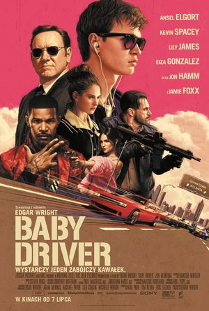 plakat filmu Baby Driver. United International Pictures, TylkoHity.pl