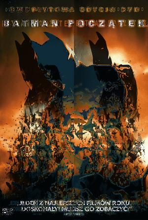 plakat filmu Batman Początek