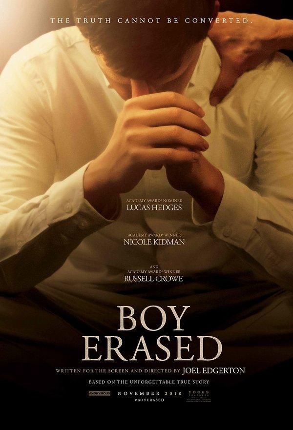 plakat filmu Boy Erased