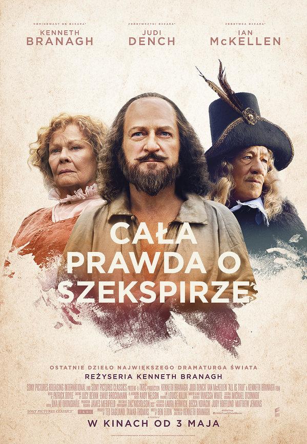 plakat filmu Cała prawda i Szekspirze
