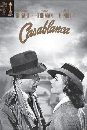 plakat filmu Casablanca/Galapagos Films