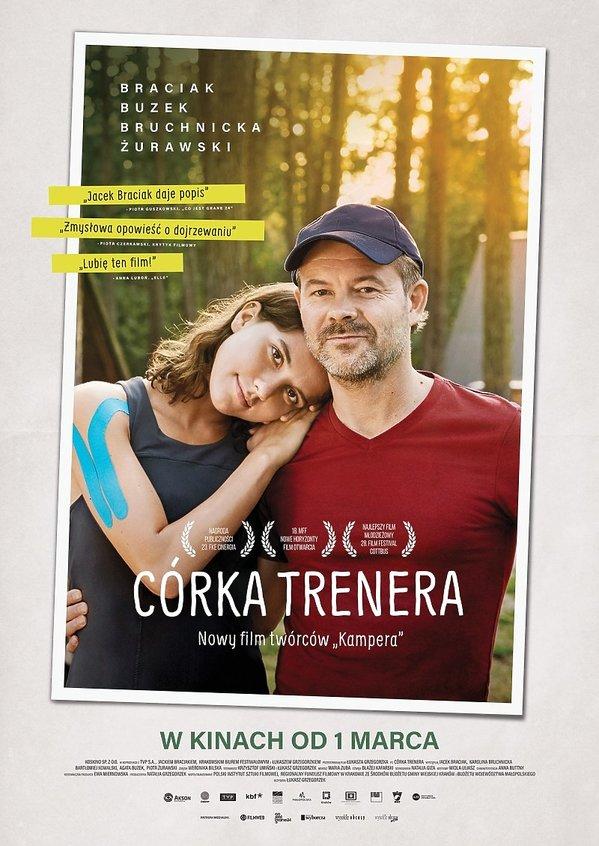 plakat filmu Córka trenera