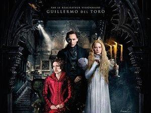 plakat filmu Crimson Peak. Wzgórze krwi. Guillermo del Toro