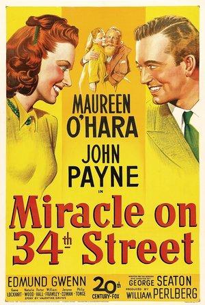 plakat filmu Cud na 34 ulicy