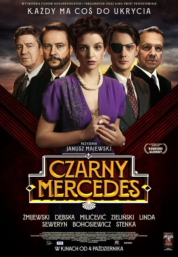 Plakat filmu Czarny Mercedes