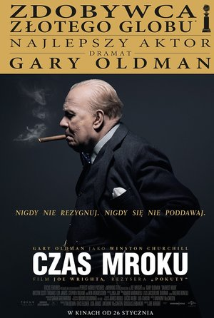plakat filmu Czas mroku, Darkest Hour, reż. Joe Wright