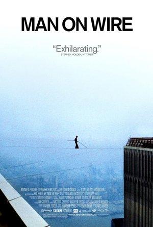 plakat filmu Człowiek na linie