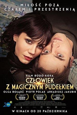 plakat filmu Człowiek z magicznym pudełkiem