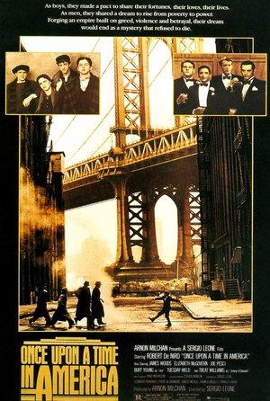 plakat filmu Dawno temu w Ameryce