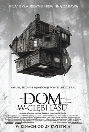 plakat filmu Dom w głębi lasu