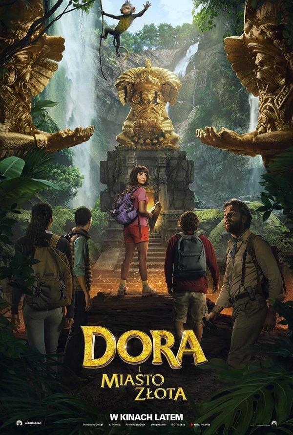 plakat filmu Dora i Miasto Złota