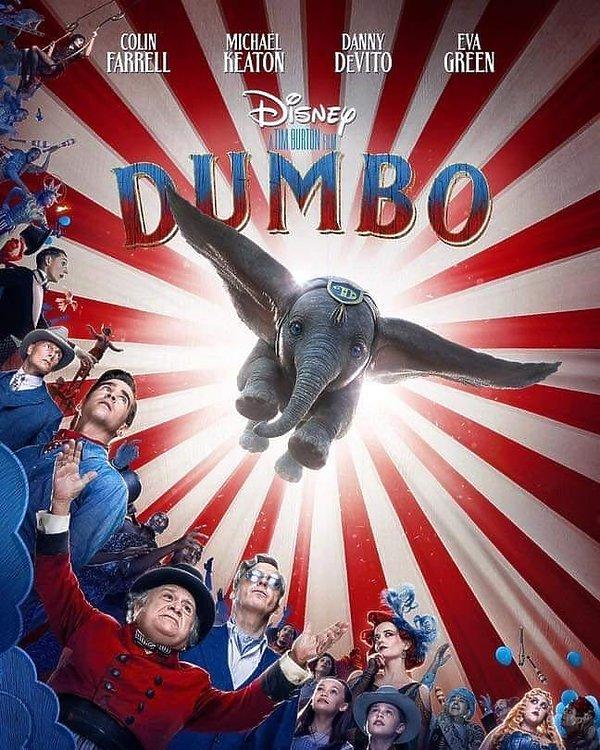 Plakat filmu Dumbo, Tim Burton