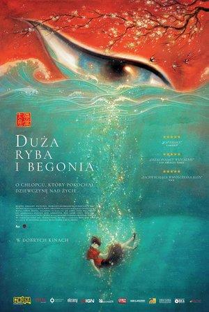 plakat filmu Duża ryba i begonia