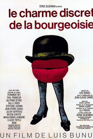 plakat filmu Dyskretny urok burżuazji