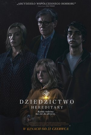 plakat filmu Dziedzictwo. Hereditary