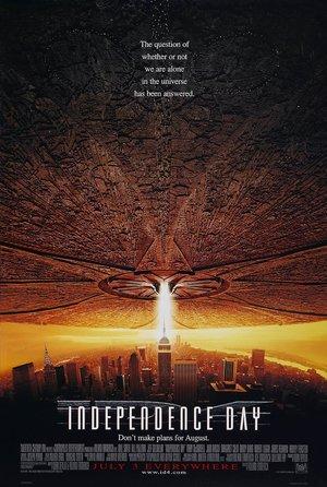 plakat filmu Dzień niepodległości, Roland Emmerich
