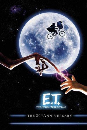 plakat filmu E.T. Steven Spielberg