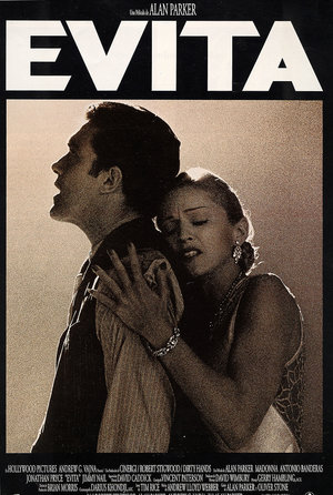 plakat filmu Evita