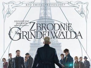 Plakat filmu Fantastyczne zwierzęta. Zbrodnie Grindelwalda