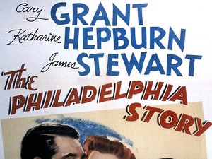 plakat filmu Filadelfijska opowieść Cary Grant, James Stewart, Katharine Hepburn