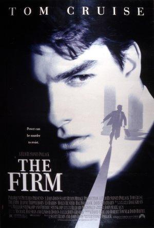plakat filmu Firma. Tom Cruise