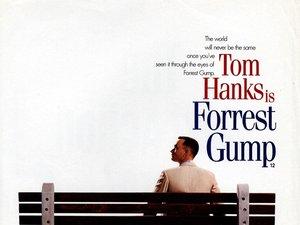 plakat filmu Forrest Gump, Tom Hanks