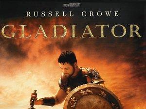 plakat filmu Gladiator. Ridley Scott
