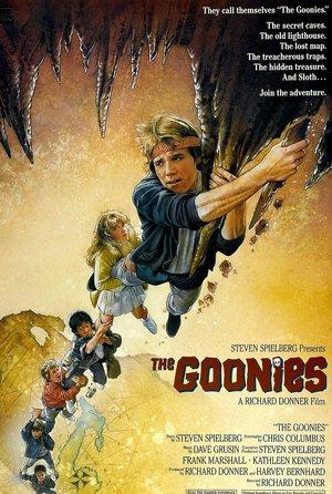 plakat filmu Goonies. Richard Donner