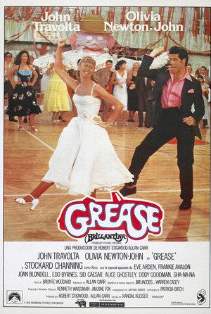 plakat filmu Grease