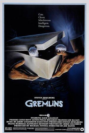 plakat filmu Gremliny rozrabiają