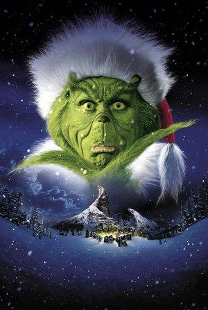 plakat filmu Grinch: świąt nie będzie. Jim Carrey