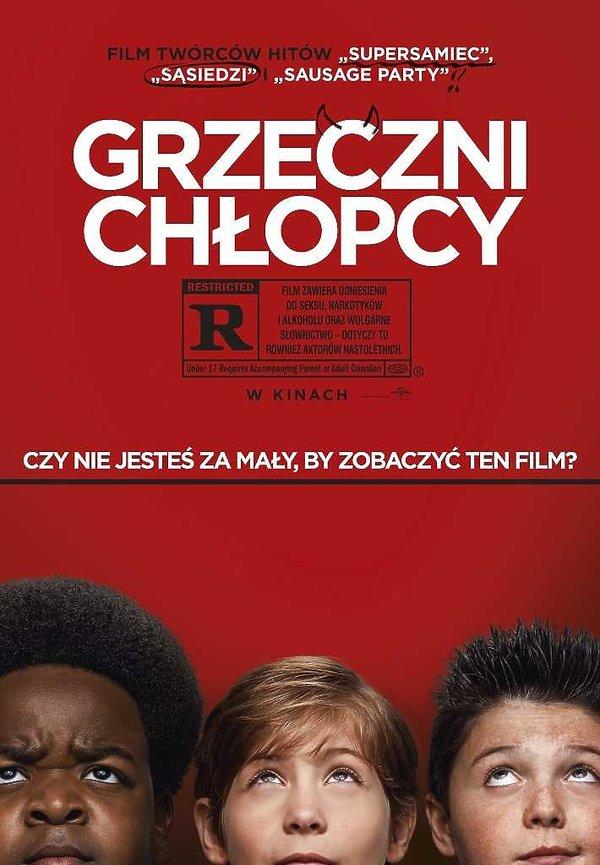 plakat filmu Grzeczni chłopcy