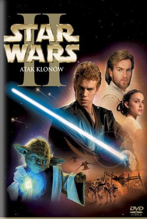 plakat filmu Gwiezdne wojny Atak klonów. Imperial Cinepix