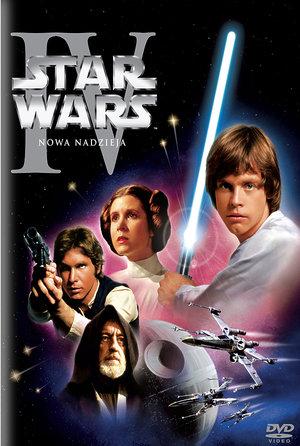 plakat filmu Gwiezdne wojny Nowa nadzieja. Imperial Cinepix