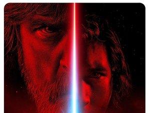plakat filmu Gwiezdne wojny: Ostatni Jedi. Disney