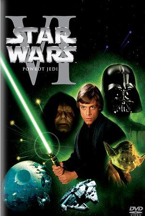 plakat filmu Gwiezdne wojny Powrót Jedi. Imperial Cinepix